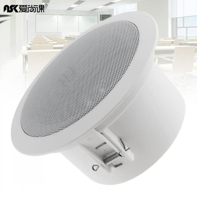 6W Mode Wasserdicht Haushalt Eingebettet Soundbar Decke Lautsprecher Öffentlichen Broadcast Hintergrund Musik Lautsprecher für Home Restaurant