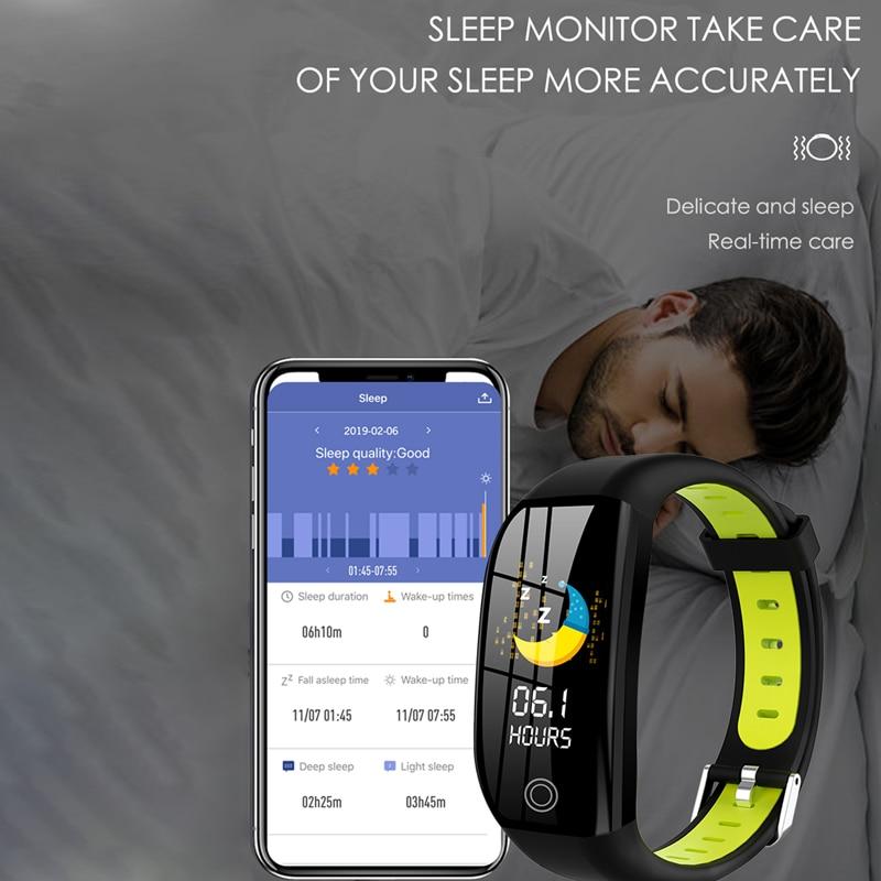 GPS Fitness Bracelet With Pressure Measurement Fitness Tracker Health Cardio Bracelet Heart Rate Blood Pedometer Smart Wristband