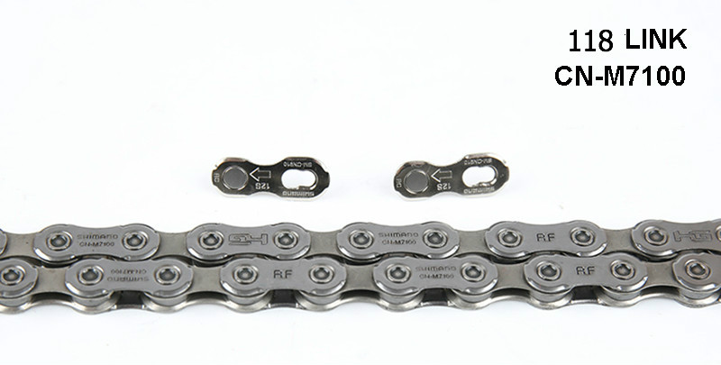12 SPEED DEORE <font><b>XT</b></font> <font><b>M8100</b></font> SLX M7100 chain Road MTB bike chain image