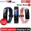 Глобальная Версия Дополнительно Honor band 4 Смарт-браслет AMOLED heart rate fitness sleep swimming sport кровяной кислородный трекер