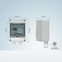 TOWE 40 A timer controller, high power industrial time control switch can set 16 sets of timers TW-DXK-40A