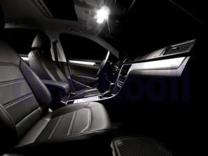 Image 4 - Canbus LED İç dome harita işık kiti + plaka lamba ampulü Volkswagen VW Passat B7 sedan varyant Estate 12 15