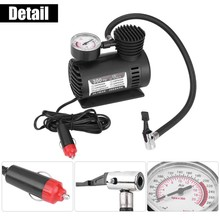 New 12V 300PSI Car Auto Portable Mini Electric Air Compressor Kit for Ball Bicycle Minicar Tire Inflator Pump Accessories