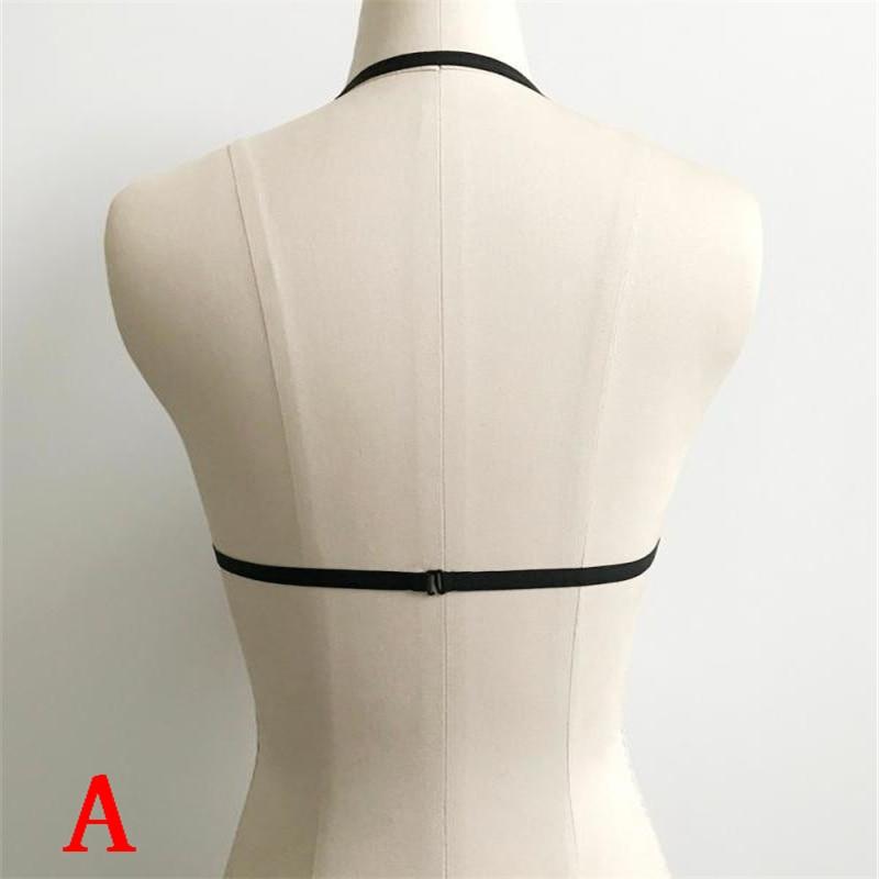 Секси бельо Дамски еротичен сутиен - Бельо - Снимка 5