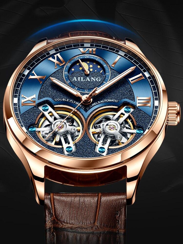 H941047bd573a4a7999d1867b3f8aaa2aX AILANG Latest design watch men's double flywheel automatic mechanical watch fashion casual business men's clock Original