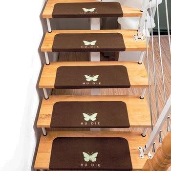 70*22*4,5 CM noche luminosa antideslizante escalera escalones tapetes alfombra de piso para el hogar alfombrilla protectora de escalera