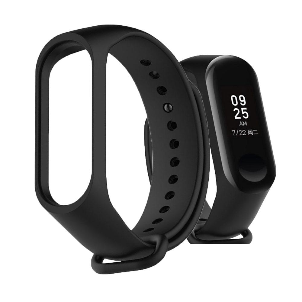 Bracelet For Xiaomi Mi Band 3 4 Watch Sport Strap Watch Silicone Wrist Strap For Xiaomi Mi Band 3 4 Bracelet Miband 4 3 Strap