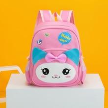цена на New Arrival Cartoon Animal Pattern Babies School Bags Kindergarten Kawaii Design  Backpack Nylon Breathable Book Bag