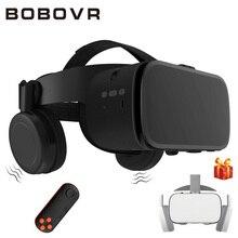 מקורי BOBOVR Z5 עדכון בובו VR Z6 3D משקפיים מציאות מדומה משקפת סטריאו VR אוזניות קסדת עבור iPhone אנדרואיד