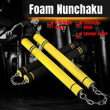 Пена для единоборств Nunchaku Nunchucks губка, цепочка для тренировок, товары для безопасности боевых искусств