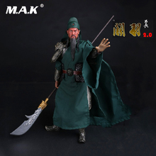 NEW in stock Full Set 1/6 Guan Yu Movable Action Figure Doll NO:ZH012 Head Body Clothes Weapon Accessory Model for Fans Gifts цена 2017