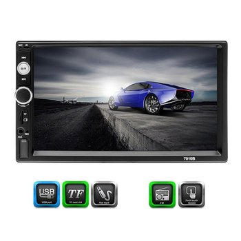 7010B Universal Design FM Player Stereo Radio Car 7 Inch HD MP5 Touch Screen Car Stereo Video MP5 Player image