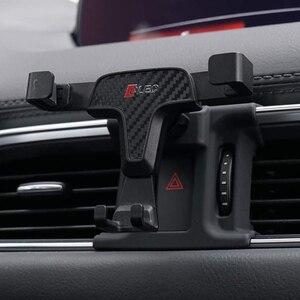 Регулируемый держатель на мобильный телефон для Mazda CX-5 2017 2018 кронштейн на вентиляционное отверстие держатель для мобильного телефона для ...