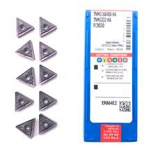 Inserti 100% Originale TNMG160404 TNMG160408 HA PC9030 di Alta Qualità Tornitura Esterna Strumento Inserto In Metallo Duro Per Acciaio Inox