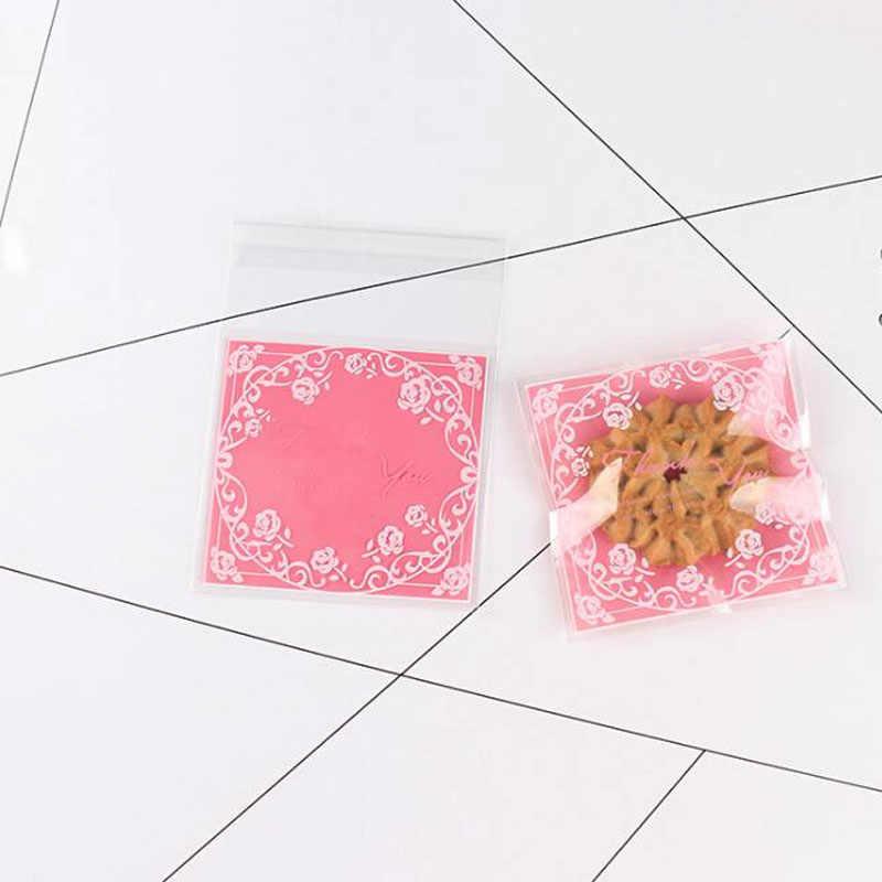 25 con Trong Suốt Túi Bánh kẹo Bánh Bao Bì Dự Tiệc Cưới Hỏi Tự Dính Túi Túi Nhỏ Để Đựng Quà Tặng