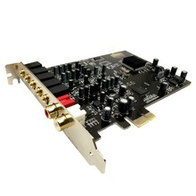 5.1 Sound Card PCI Express PCI-E Built-In Double Output Interface for PC Window XP/7/8/10(China)
