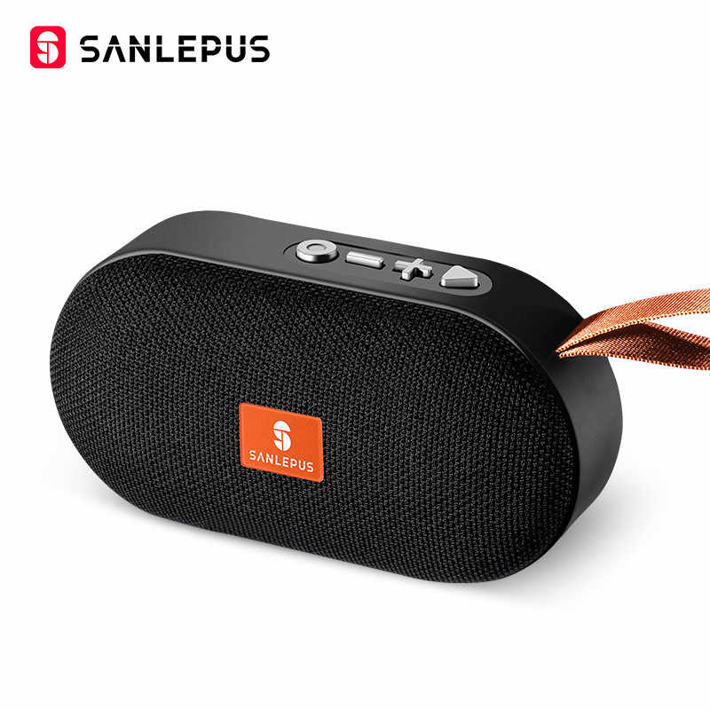 Sanlepus Portabel Bluetooth Speaker Speaker Outdoor Nirkabel Musik Stereo Surround Tahan Air untuk Ponsel Tablet PC Laptop Xiaomi