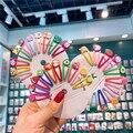 10 stück Süße Cartoon Obst Haar Pin Für Mädchen Haar Zubehör Baby Clips Ins Haar Styling Werkzeuge Kinder Haar Clips barrettes