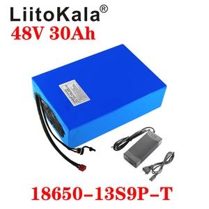 Image 2 - LiitoKala 48v 30ah 48v 1000w סוללה ליתיום יון 48V 30AH חשמלי אופני סוללה תא 48v קטנוע סוללה