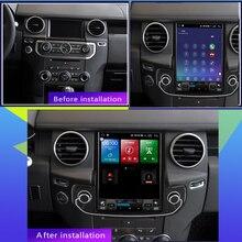 Вертикальный экран Tesla 128G Android GPS-навигация для Land Rover Discovery 4 2009-2016 Автомагнитола стерео видео мультимедийный плеер