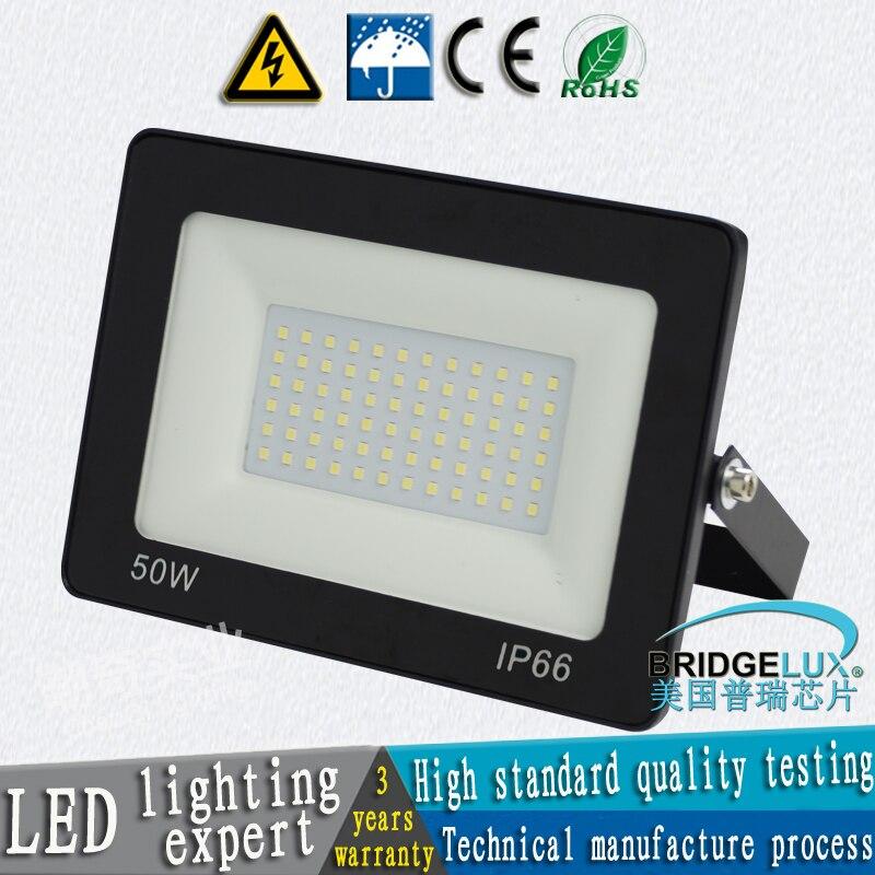 Foco 10W 20W 30W 50W 100W 150W 200W LED Luz de inundación lámpara de jardín Luz de arandela de pared Luz de puerta reflector al aire libre