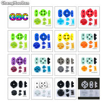 ChengHaoRan For Nintend GameBoy Color Silicone Rubber Pad Conductive Button For GBC Power On Off Button AB Buttons D Pads