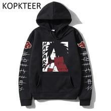 Anime engraçado madara uchiha impressão manga hoodies harajuku das mulheres dos homens hip hop manga comprida outono inverno roupas streetwear pulôver