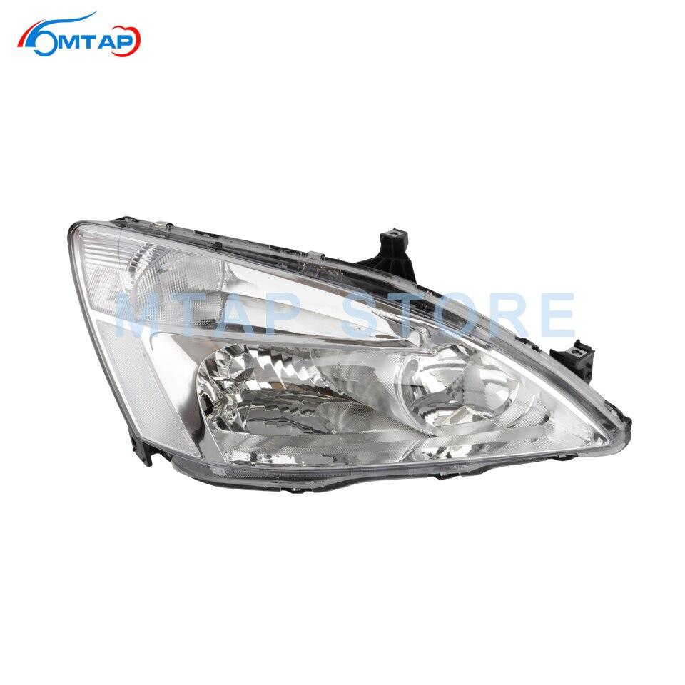 Headlight Set For 2005-2006 Honda CR-V LX SE EX Models Left and Right 2Pc