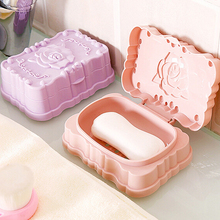 Container Case-Holder Storage-Case Soap-Box Portable Bathroom-Accessories Home Wash-Dust-Proof