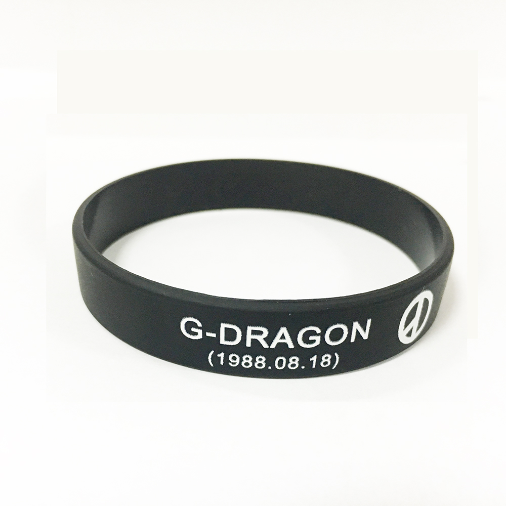 BIGBANG Kpop Korean popular group silicone bracelet wristband For BIGBANG custom jewelry
