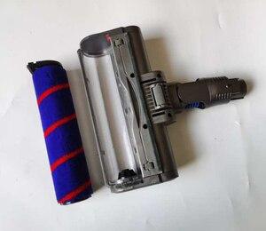 Image 4 - Электромоторизованная насадка для напольной щетки, турбощетка для dyson DC45 DC62 74 V6, ТРИГГЕРНАЯ головка для животных, детали для беспроводной головки