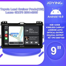 Screen-Autoradio Land-Cruiser Android Lexus Gx470 Prado Car-Stereo 2009 For Toyota 2004