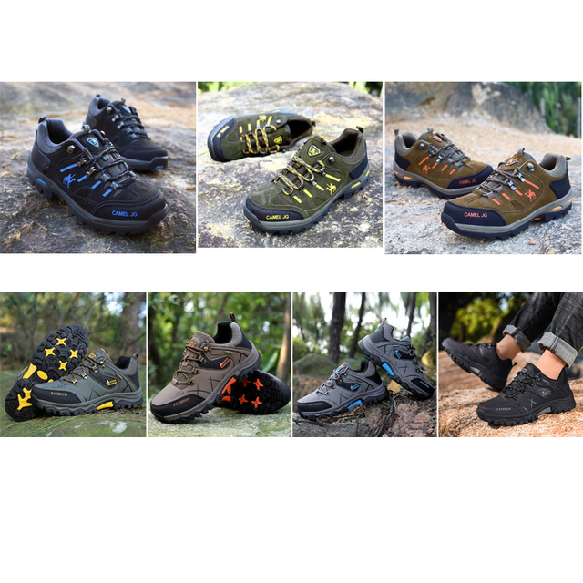 GOMNEAR Sneakers Hiking Shoes for Men 8