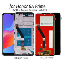 Tela de lcd para honra 8a prime JAT-LX1 display lcd substituição da tela toque para honra 8 a pro JAT-L41 display digitador testado