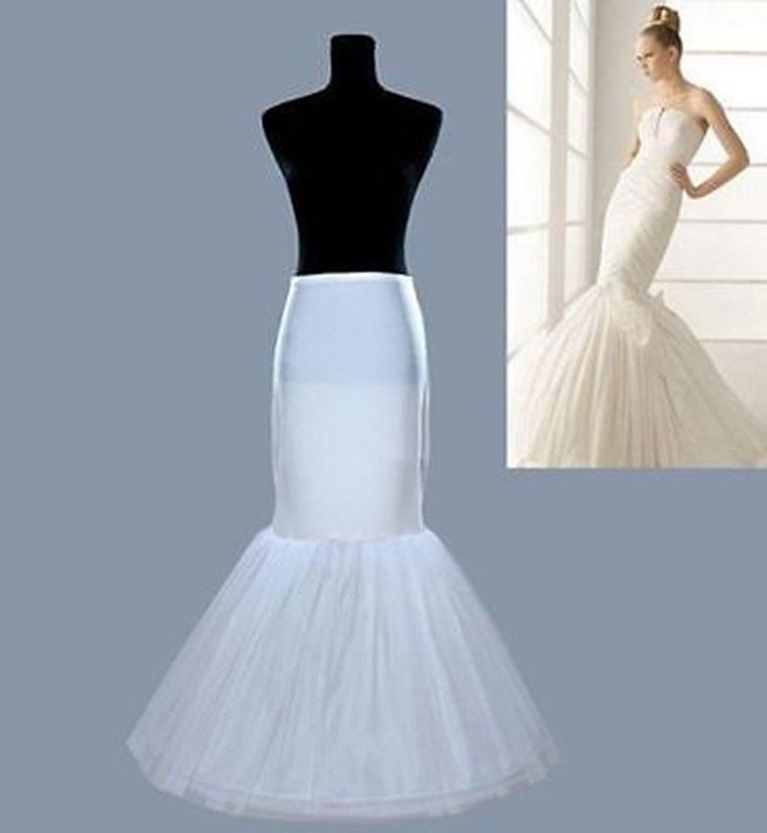 Wedding Petticoat Hot Mermaid Style Fishtail Underskirt Accessories Crinoline For Wedding Dresses