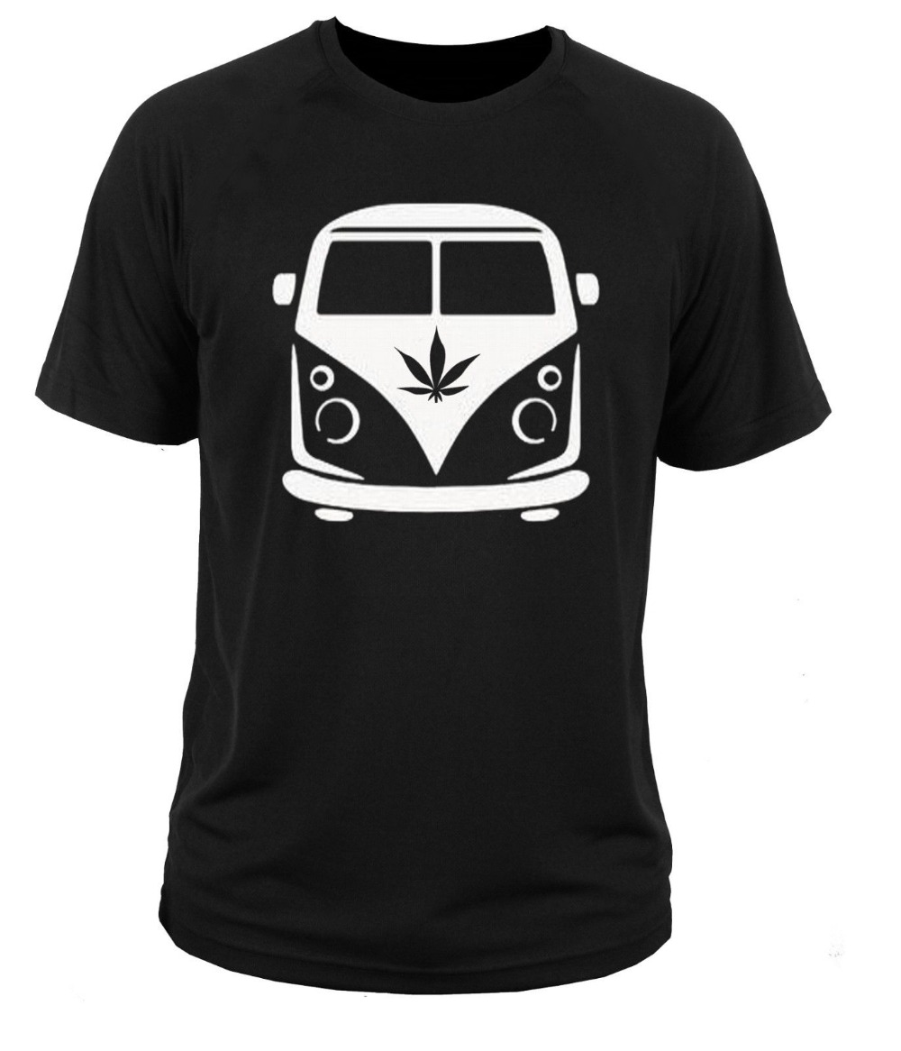 Newest 2019 T Shirt Men Funny T Shirt Men Hot Sale 100 cotton Oldschool Car Fans T1 Weed Joint Tee Shirt in T Shirts from Men 39 s Clothing