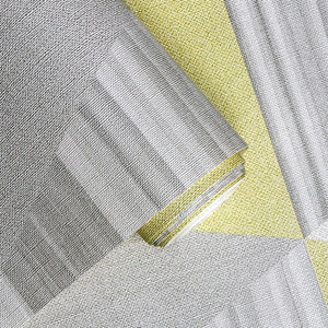 Image 4 - New Fashion Geometric Abstraction Wallpaper Roll Color Plaid Wall Paper PVC Waterproof Bedroom Living Room Wall