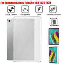 Voor Samsung Galaxy Tab S5e 10.5 T720 T725/Tab EEN 10.1 2019 SM-T510/515 TPU Gel Silicone Matte case Cover(China)