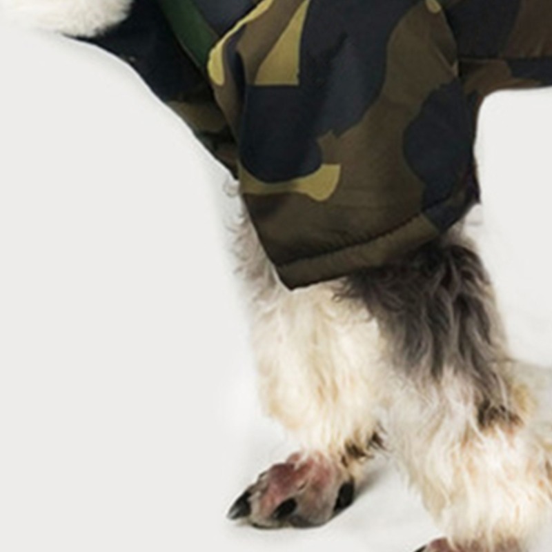 Image 3 - Thicken Winter Camouflage Coat Pet Dog Winter Clothes for Small  Dogs Pets Clothing French Bulldog Yorkshire Pug Fashion JacketDog Coats