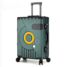 New Luggage With Universal Wheel Boarding Box Large Capacity Password Box Men and Women Long Distance Travel Suitcase Wheels