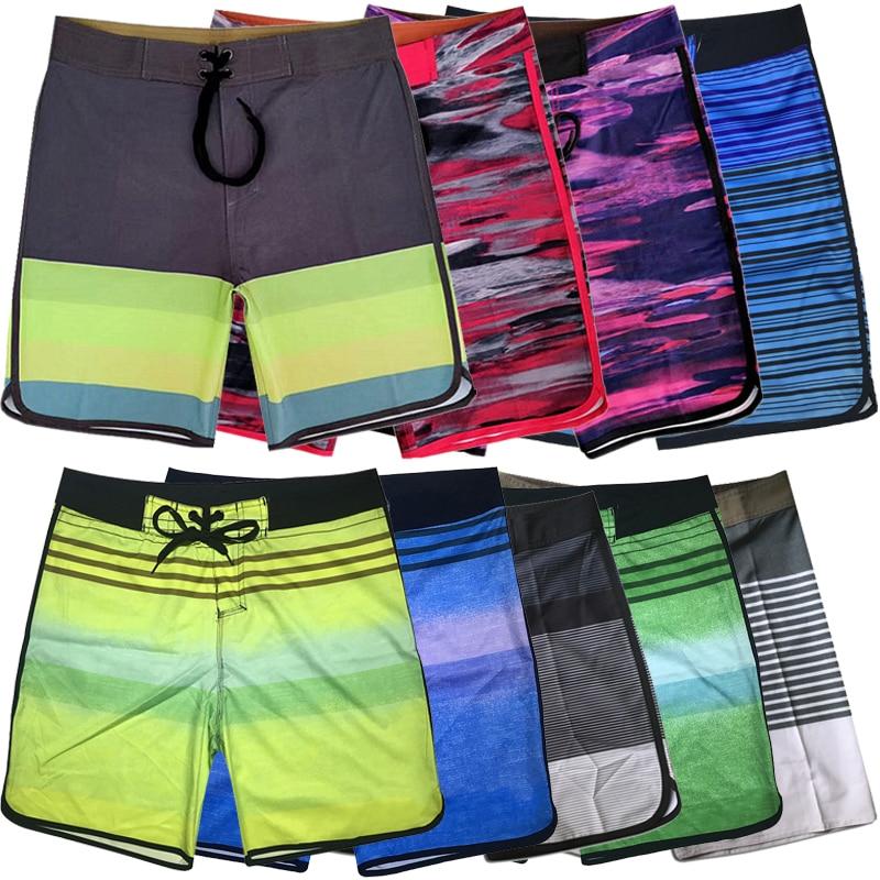 2019 New Design Men   Shorts   Waterproof Elastic Men   Board     Shorts   Swimwear Male Summer   Board     Short   Swimwear Beach   Short   Boardshorts