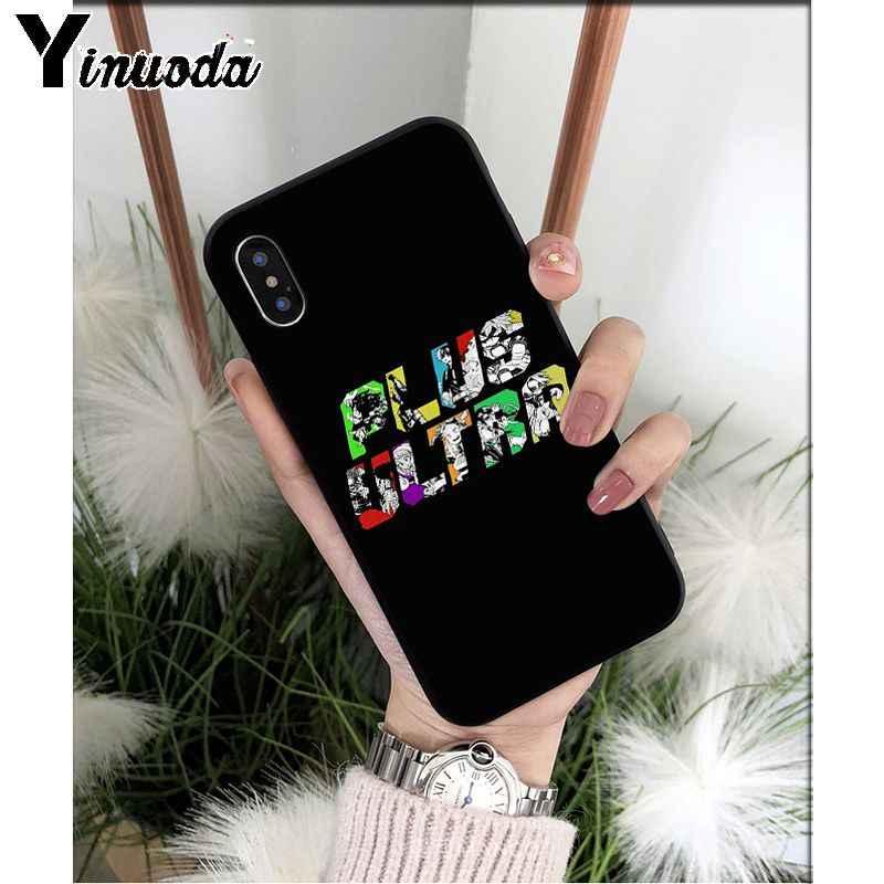 Yinuoda Anime Mijn Hero Boku Geen Hero Academia Deku Bakugou Tpu Zachte Telefoon Case Voor Apple Iphone 8 7 6 6S Plus X Xs Max 5 5S Se Xr