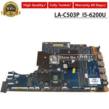 FOR HP Envy 15-AE Laptop Motherboard SR2EY I5-6200U 850634-601 850634-001 850634-501 ASW50 LA-C503P Mainboard