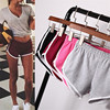 Summer Daily Women Sports Fitness Shorts Stripped Gym Workout Waistband Running Girls Jogging Shorts Multi Sizes