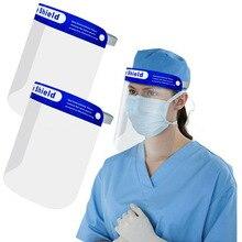 1PCS High-definition transparent protective mask Full face protection, dust-proof glasses, safety glasses, splash-proof mask