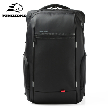 Kingsons 15 inch Laptop Backpacks USB Charging Anti Theft Backpack Men Travel Water Repellent School Bags Male Mochila