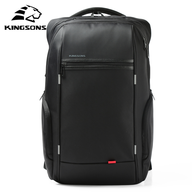 Kingsons 15 inch Laptop Backpacks USB Charging Anti Theft Backpack Men Travel Backpack Water Repellent School Bags Male Mochila