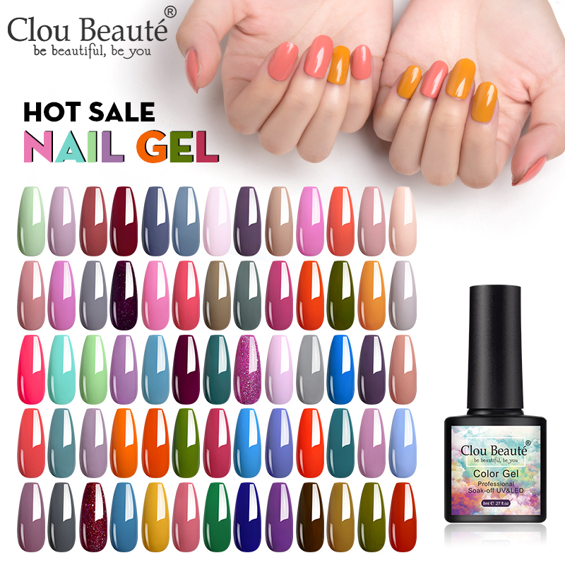 Clou Beaute Gel Nail Polish Gellak Vernis Semi Permanant Uv Gel Lak Gel Paint Nail Art Primer Nail Base Top Coat Matte Top Need