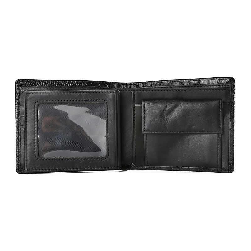 JINBAOLAI натуральная кожа кошельки для мужчин Горячая 2019 Короткий Мужской кошелек для монет карман чехол-кошелек для мужчин знаманитый бренд Органайзер Двойные кошельки, сумочки известного бренда