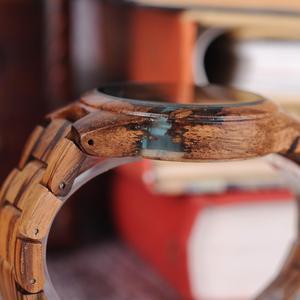 Image 4 - Relogio masculino BOBO VOGEL Holz Uhr Männer Spezielle Design Handgemachte Handgelenk Uhren für Ihn mit Holz Geschenke Box OEM DROPSHIPPING
